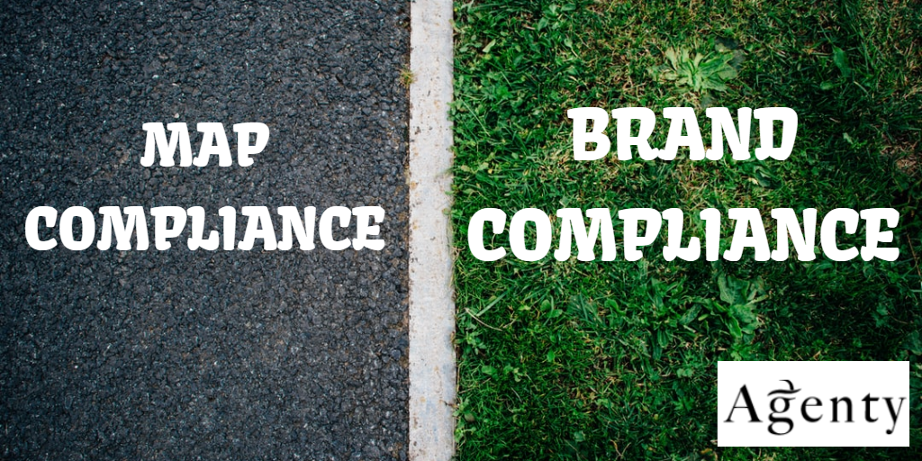 |Map compliance vs Brand Compliance