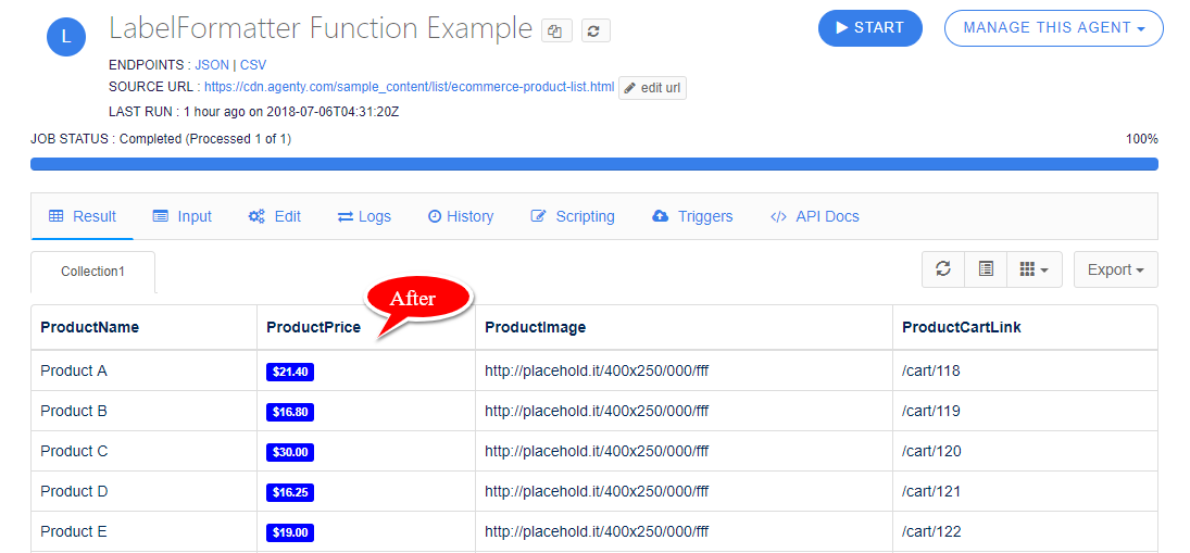 LabelFormatter Function Example-after