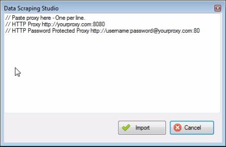 bulk proxy add for web scraping