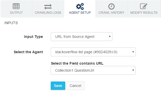 Connect multiple scraping agents online