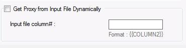 dynamic proxy form