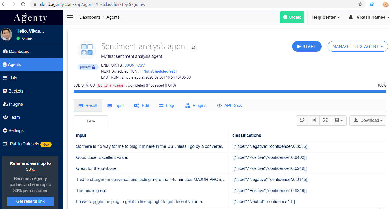 Sentiment Analysis Software